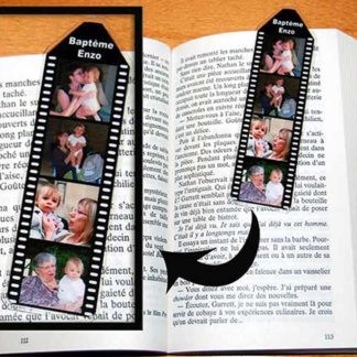 Mini marque page pellicule photos agda photo à personnaliser