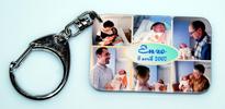 Porte clés pour baptême photo personnalisée agda photo