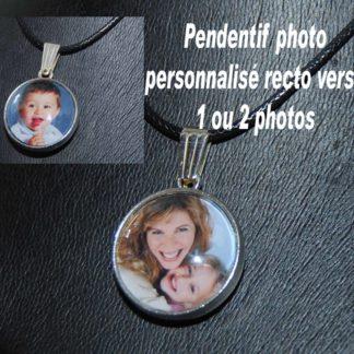 collier pendentif personnalisé photo agda photo