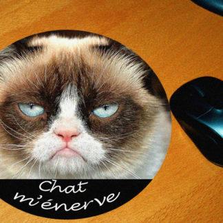 Tapis de souris chat m'énerve agda photo