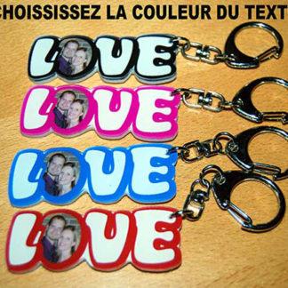 Porte-clés agda photo photo st-valentin
