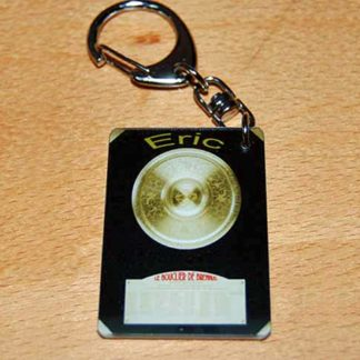 Porte-clés bouclier de brennus prenom personnalisé agda photo