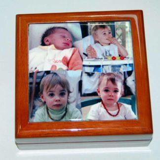 Boîte à bijoux - coffret à bijoux photo personnalisé