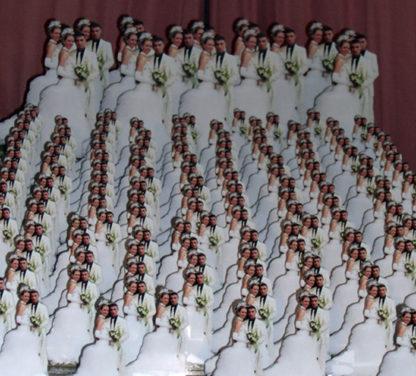 Photo sculpture pour souvenir de mariage avec agda photo