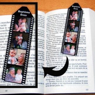 Marque pages photos personnalisés