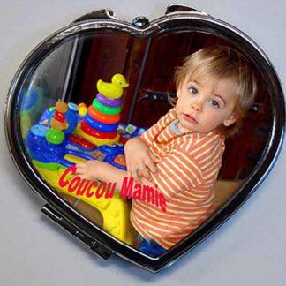 Miroirs de poche personnalisés