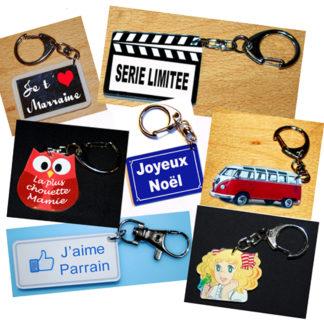 Porte-clés prêt à offrir pour toutes occasions