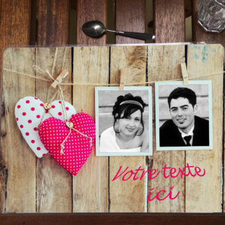 set de table photo personnalisée st valentin agda photo