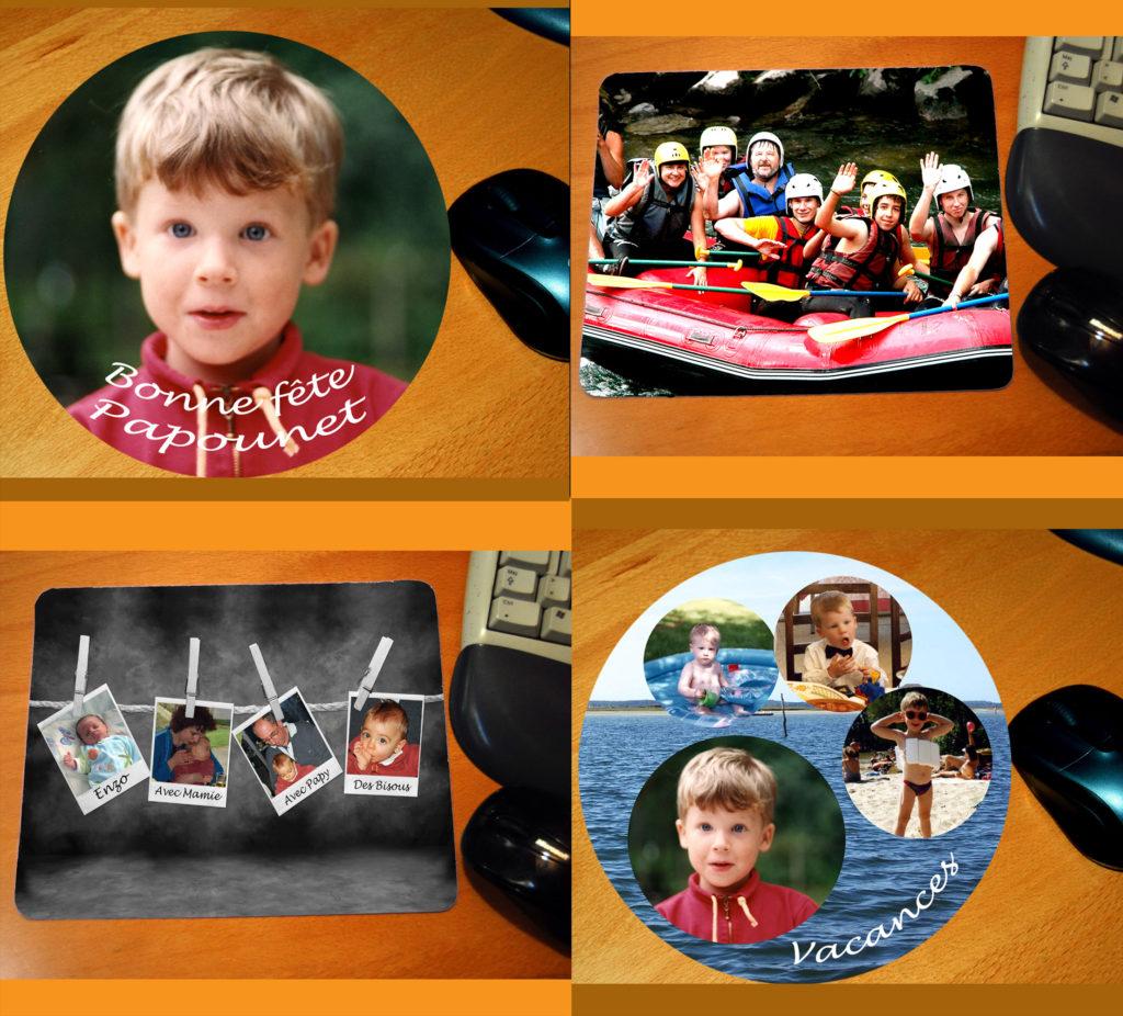 tapis de souris personnalisé photo agda photo