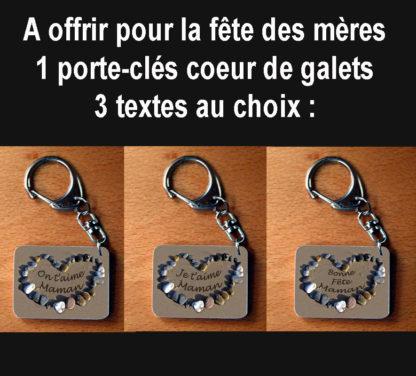 Porte-clés pour maman agda photo fete des mères