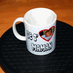 Mug photo personnalisé pour Maman agda photo