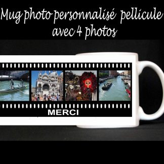 Mug photos personnalisé pellicule agda photo