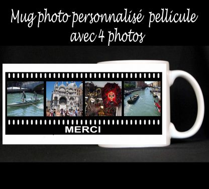 Mug photos personnalisé pellicule agda photo