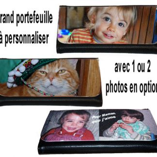 Grand portefeuille photo personnalisé agda photo