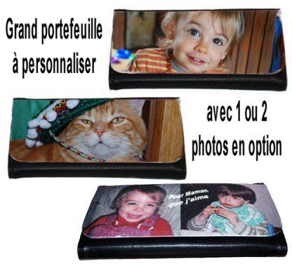 Grand portefeuille photo personnalisé agda photo
