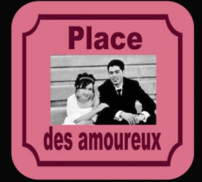 sous bock photo plaque de rue agda photo