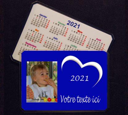 Calendrier personnalisable photo 2021 agda photo