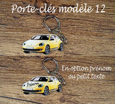 Porte-clés volkswagen coccinelle agda photo modèle récent