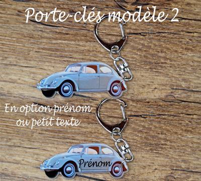 Porte-clés personnalisable volkswagen agda photo