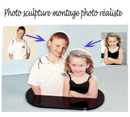 Photo sculpture montage 2 photos agda photo