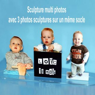 Photo sculpture multiples photos agda photo