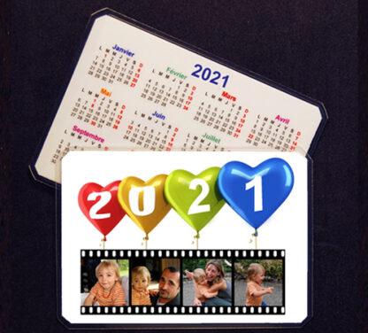 Calendrier personnalisé 2021 avec vos photos pele mele avec agda photo