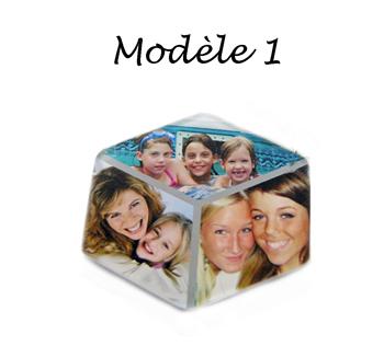 Magnet pèle mèle personnalisé 3 photos avec agda photo