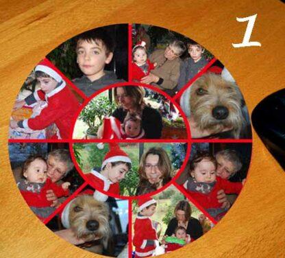Tapis de souris personnalisé 10 photo avec agda photo