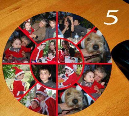 tapis de souris personnalisé avec 12 photos par agda photo
