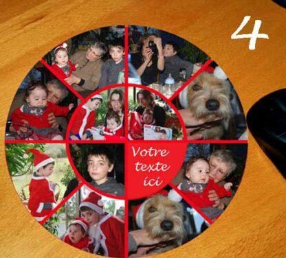 tapis de souris 11 photos et texte personnalisé par agda photo