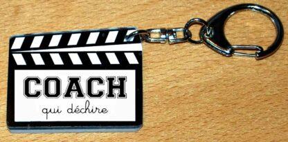 Cadeau coach porte-cles clap cinéma avec agda photo