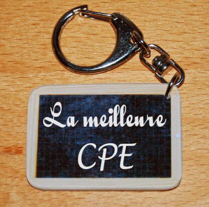 Porte-clés la meilleure CPE à offrir fin année scolaire avec agda photo